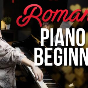 Beautiful and Romantic Piano For Beginners 😍😍😍