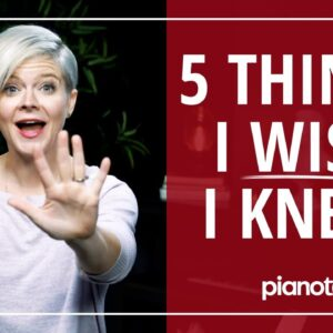 5 Things I Wish I'd Known Before Starting The Piano 🎹😓 (Beginner Lesson)