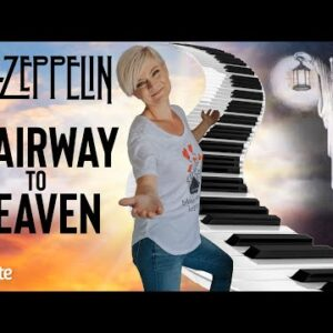 Stairway To Heaven On Piano (Step By Step Lesson)