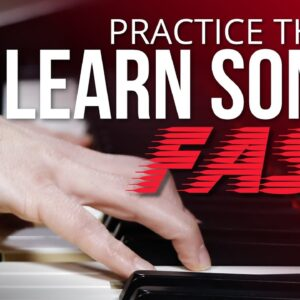 3 Things To Practice Right *NOW* To Learn Songs FAST (Beginner Piano Lesson)