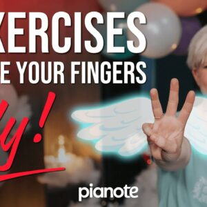 3 Piano Speed Exercises To Make Your Fingers FLY 🕊🕊🕊