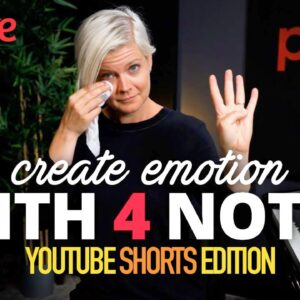 How To Create Emotion with 4 Notes (Piano Lesson) #shorts