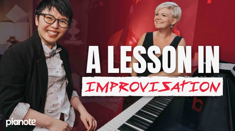 Teaching A Classical Pianist How To Improvise 🎹✨