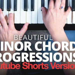 Learn to play a dark chord progression on piano